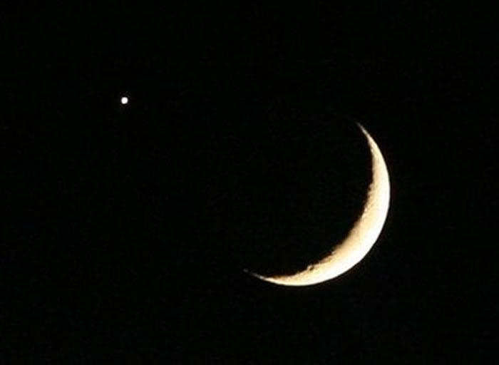 2018年8月14日金星合月