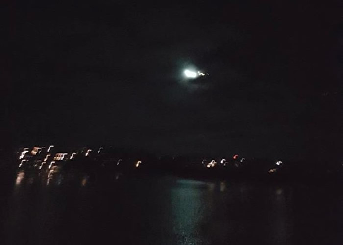 澳洲吉普斯兰亦有火球掠过。