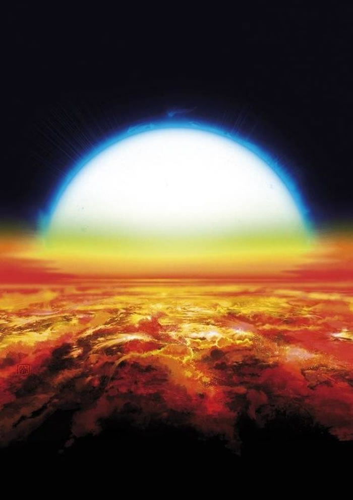 系外行星Kelt-9b大气中首次探测到铁和钛
