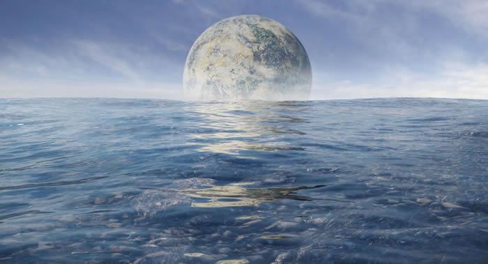 """三分之一""""超级地球""""是由海洋构成的星球"""