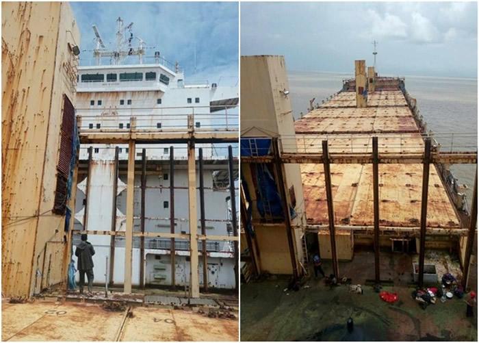 缅甸仰光水域惊现幽灵船Sam Ratulangi PB 1600 消失9年无人无货物