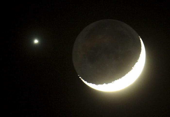 2018年9月12日金星合月