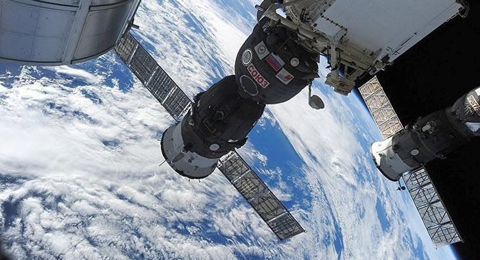 """俄罗斯将检查所有处于生产状态的""""联盟""""和""""进步""""航天器是否存在钻孔痕迹"""