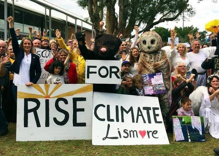 多国团体响应行动,希望各国领袖正视气候变化问题。