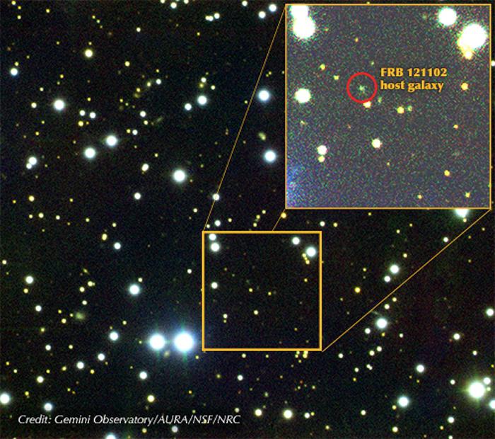 """人工智能检索30亿光年外矮星系神秘电波""""FRB 121102"""" 捕获72个奇怪信号"""