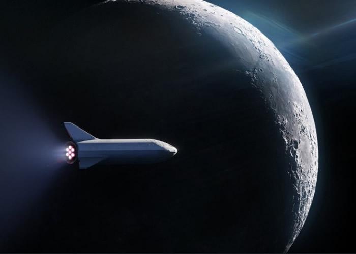 SpaceX计划用火箭把旅客送上月球轨道。