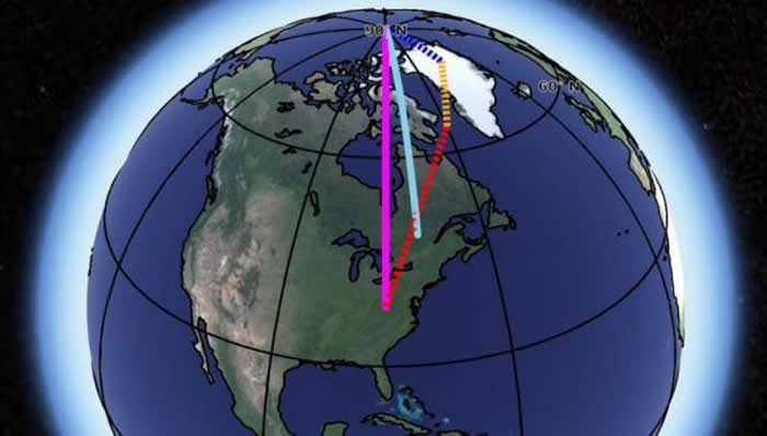 《地球与行星科学通讯》:NASA地质学家新研究揭示数十年前的地轴轻微偏移之谜