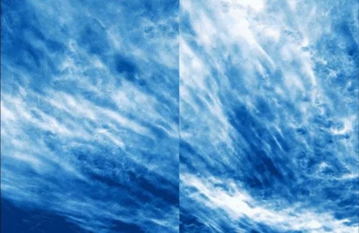 美国宇航局拍下罕见大气现象——银云(夜光云)