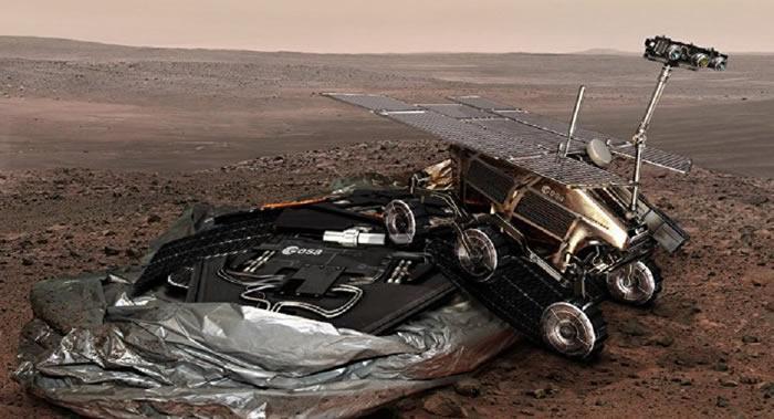 """""""火星太空生物-2020""""项目将于2021年3月19日携带欧洲火星探测车登陆火星"""