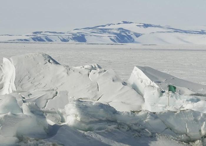 全球暖化令冰川融化,属水位上升的元凶之一。