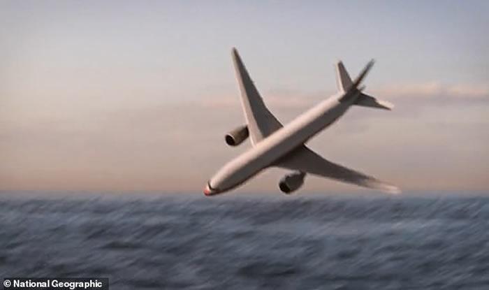 """""""国家地理""""频道""""海底大搜索""""纪录片展示MH370航班波音-777客机最后时刻的""""死亡螺旋"""""""