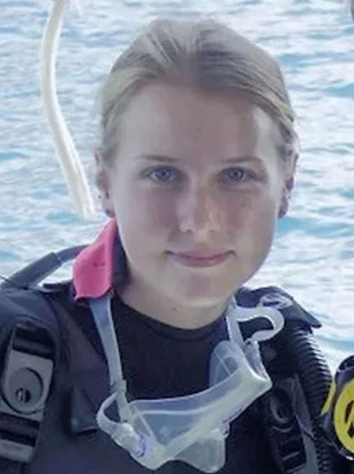 派克为海洋生物保育基金会担任实习研究员。