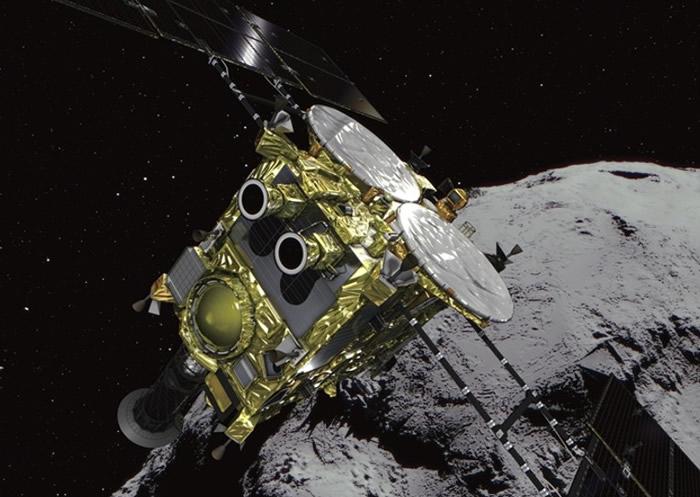 隼鸟二号会在下月投下第三个探测器,月尾尝试登陆。