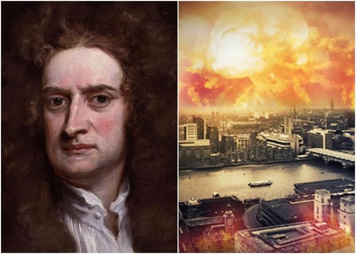 牛顿曾醉心研究《圣经》 预言地球会在2060年迎来世界末日