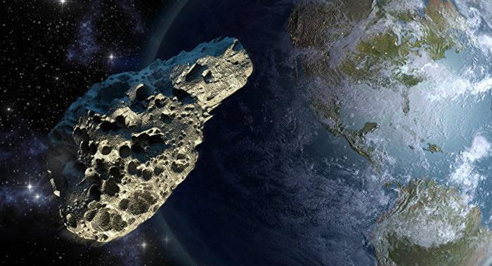 NASA:长约70至160米的小行星SP1正以时速6万公里靠近地球