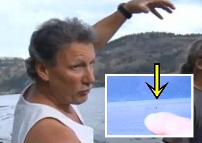 """加拿大卑诗省奥卡诺根湖湖怪""""奥戈波戈""""3周内3次现身"""