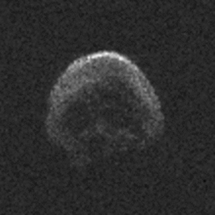 """""""骷髅头""""小行星2015 TB145将在11月11日再次掠过地球"""