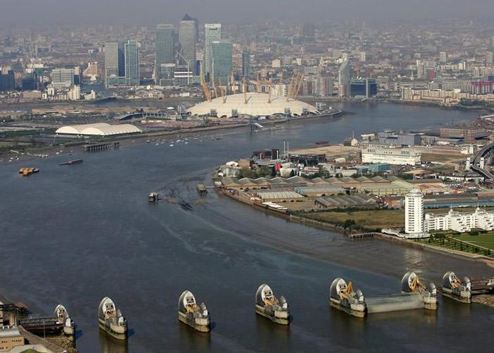 伦敦面临陆沉危机。