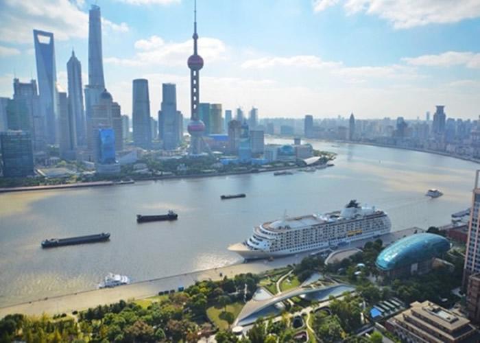 报告指上海已出现陆沉。
