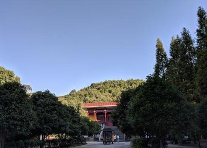 德兴市的静住寺。