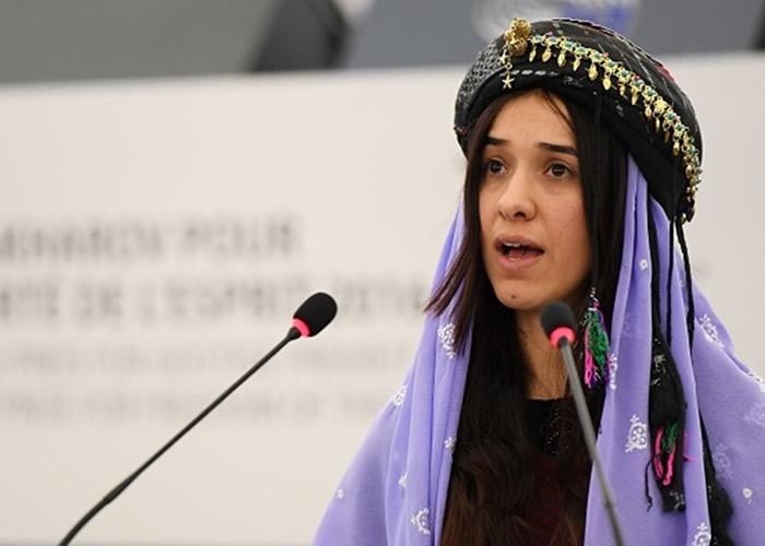 纳迪娅曾被IS掳作性奴。