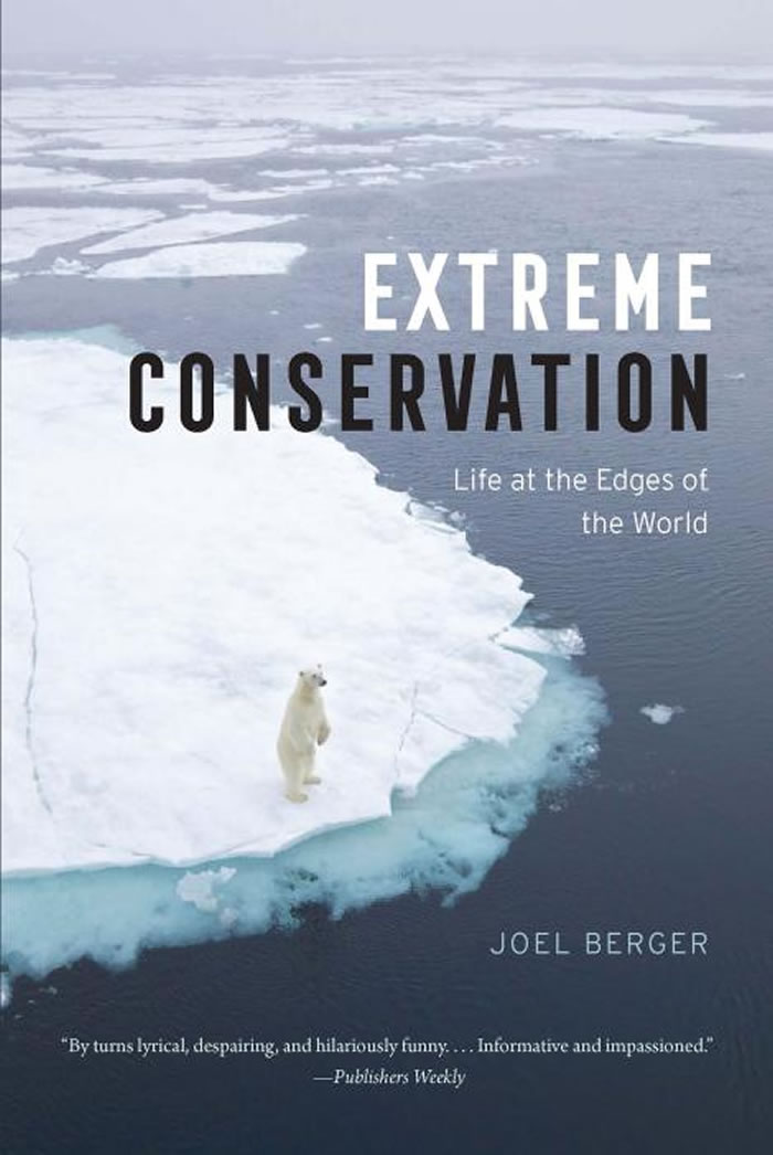 《极端保育》:乔尔.柏格在北极穿上熊装