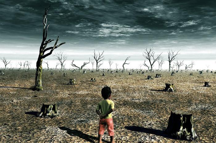 """联合国气候调查报告:地球最快会在2030年突破摄氏1.5度的""""升温大限""""陷入灾难"""
