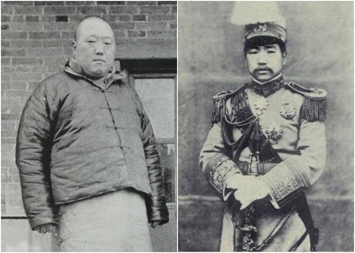 胡景翼(左图)发表的《胡景翼与曹世英联袂讨陈檄文》,内容是讨伐陈树藩(右图)。