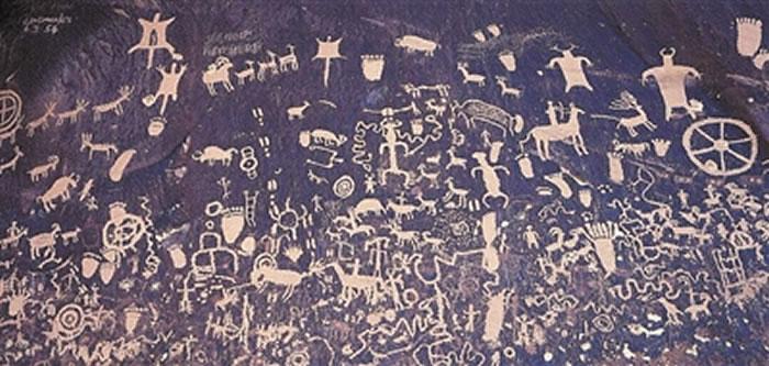 古人类创作的岩画到底是随意涂鸦还是有深刻含义?