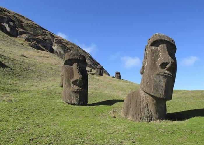 考古团队怀疑,石像为当地的居民指引水源。