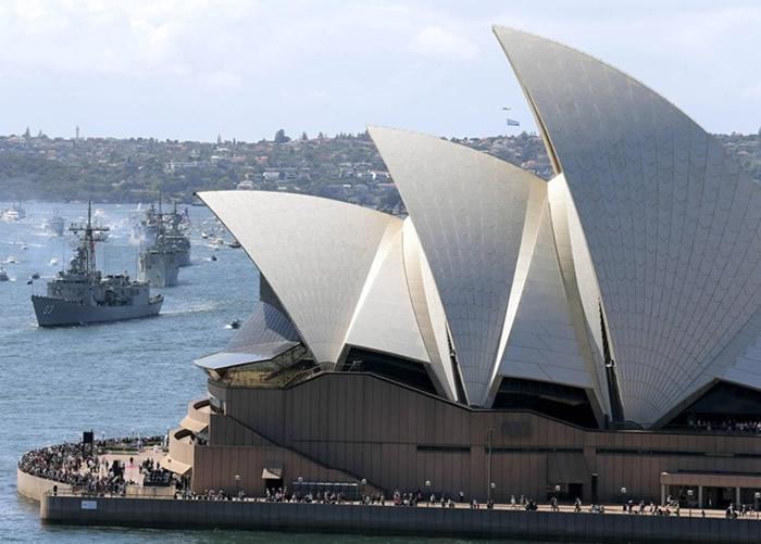 研究指悉尼面对海啸的危机增加。