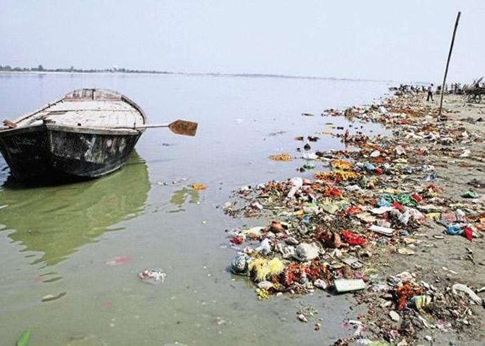 恒河是国内污染最严重的河流之一。