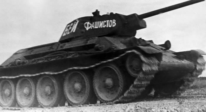 第二次世界大战期间苏联T-34坦克的价格是269000卢布
