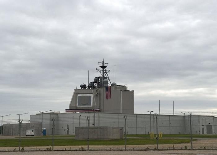 俄罗斯指美国陆基神盾系统(图),可改为发射巡航导弹。