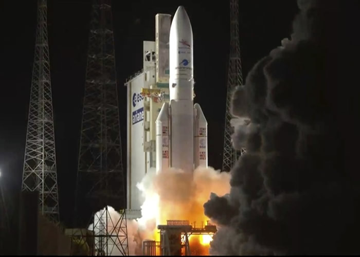 """欧洲日本携手展开探测任务 太空船""""BepiColombo""""2025年抵达水星"""