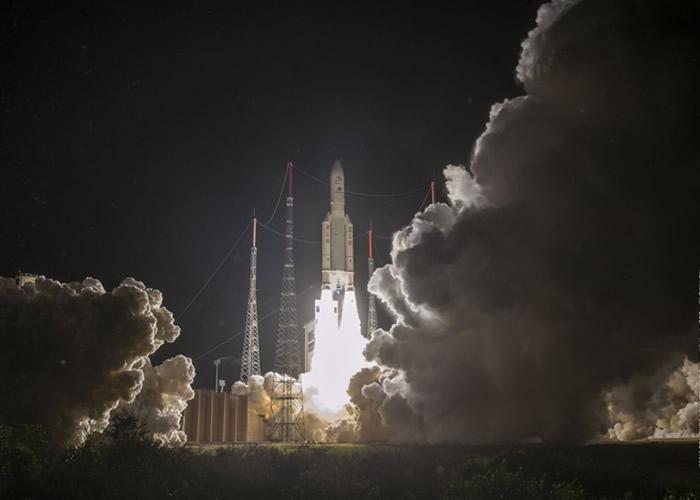 """火箭(图)搭载了""""BepiColombo""""。"""