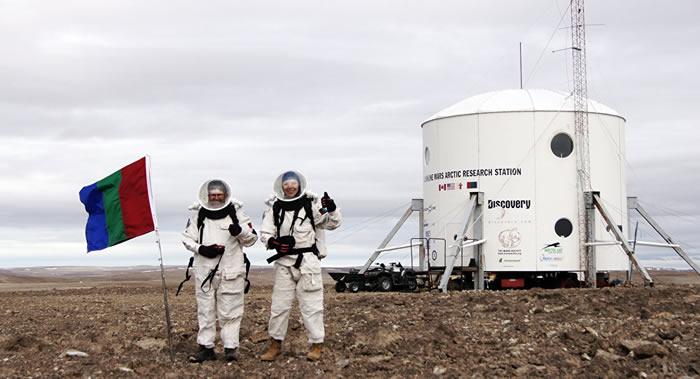 """俄罗斯女性斯捷潘诺娃成为模拟火星载人探险条件的""""火星-160""""科研试验参与者"""