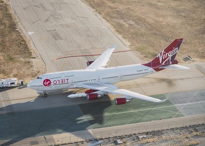 该架波音747经过特别改装。