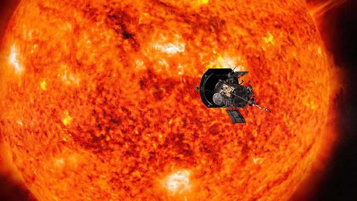 """""""帕克太阳探测器""""创纪录飞到距离太阳4200万公里的地方"""