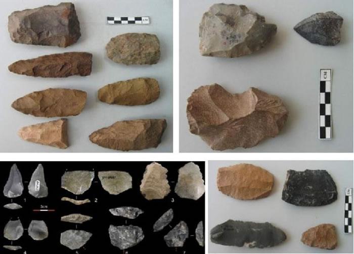 内蒙古金斯太遗址出土的石制品