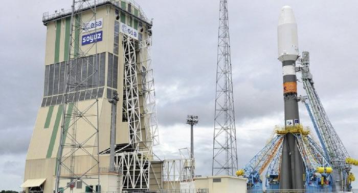 """载有MetOp-C气象卫星的俄罗斯""""联盟-ST""""运载火箭从成功发射"""
