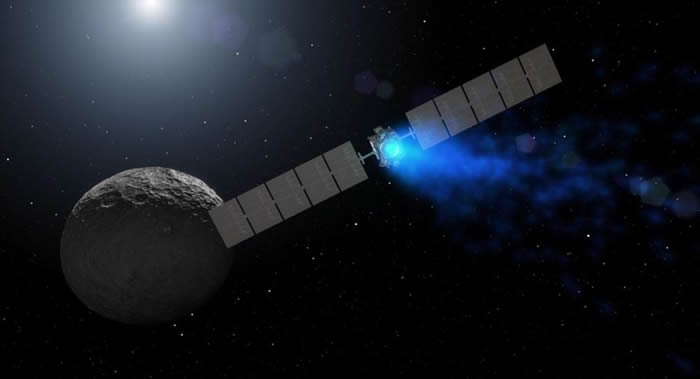 "NASA称""黎明""号(Dawn)深空航天器已失去信号"