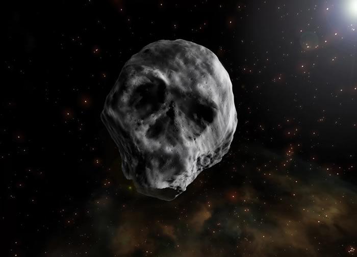 """""""死亡彗星"""":小行星2015 TB145将于11月11日飞近地球"""