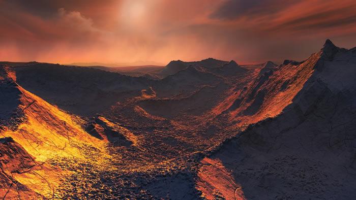 """太阳系邻居""""巴纳德之星""""轨道上发现""""超级地球"""""""