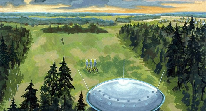 UFO专家称出现UFO是恶劣天气造成的