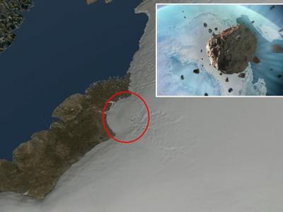 格陵兰希亚瓦沙冰川发现巨型陨石坑 冰河时期流星撞击威力如同470