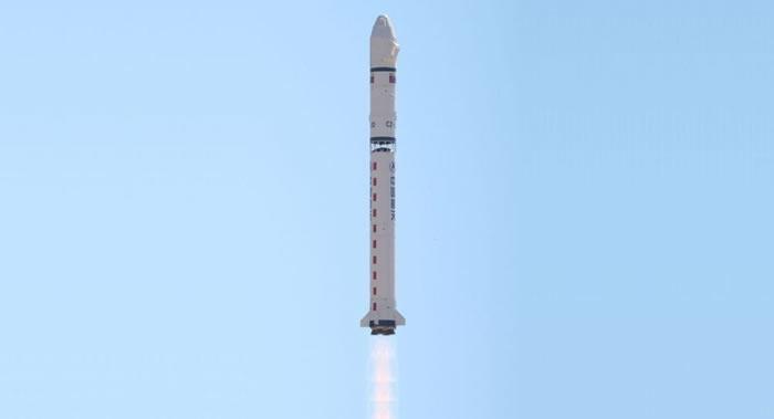 中国长征二号丁运载火箭一次成功发射5颗卫星