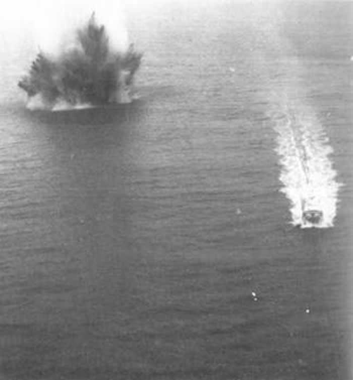 美国海军解密文件:美军1972年越战中水雷的爆炸意外由太阳风暴引起