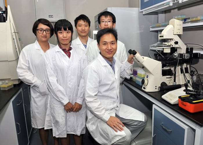 深圳南方科技大学贺建奎另一基因编辑研究 采400人类胚胎