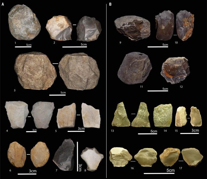 """阿尔及利亚发现的240万年前石器和动物骨头化石揭示整个非洲都是""""人类摇篮"""""""